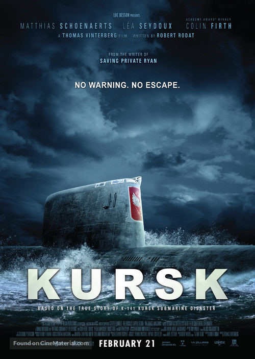 Kursk - Hong Kong Movie Poster