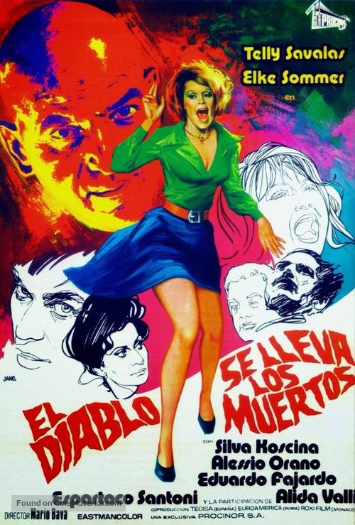 Lisa e il diavolo - Spanish Movie Poster