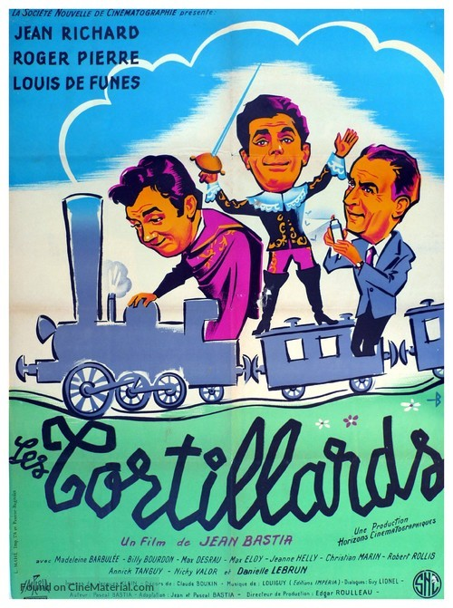 Tortillards, Les - French Movie Poster