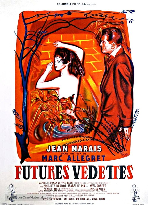 Futures vedettes - French Movie Poster