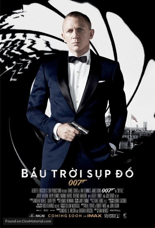 Skyfall - Vietnamese Movie Poster