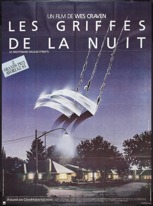 A Nightmare On Elm Street - French Movie Poster