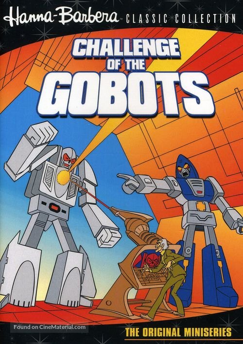 """Challenge of the GoBots"" - DVD movie cover"