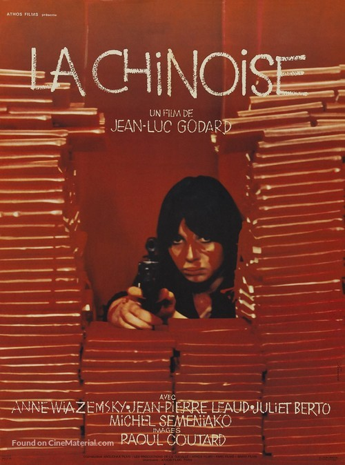 La chinoise - French Movie Poster