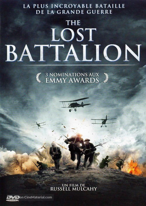 The Lost Battalion - French Movie Cover