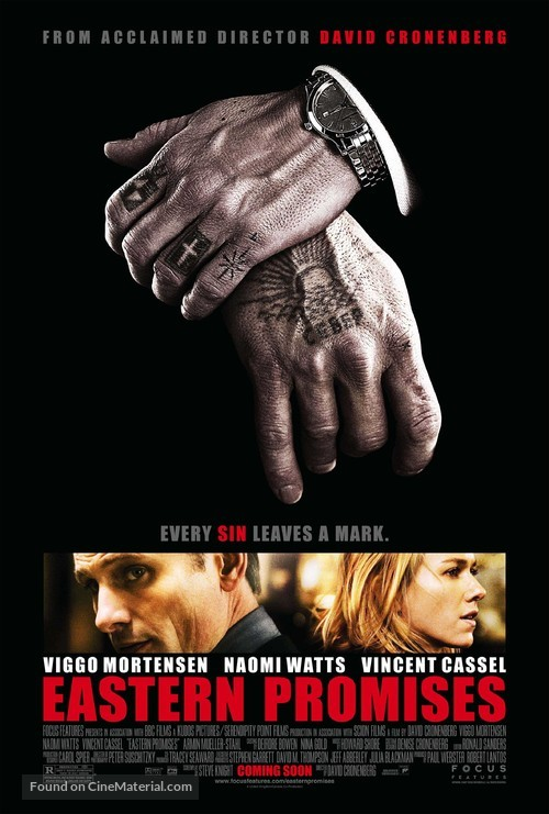 Eastern Promises - Advance poster