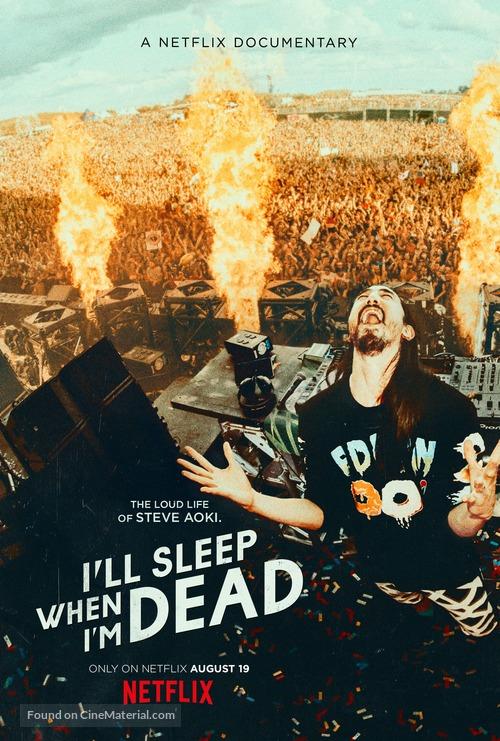 I'll Sleep When I'm Dead - Movie Poster