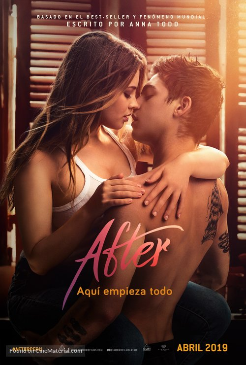 After - Peruvian Movie Poster