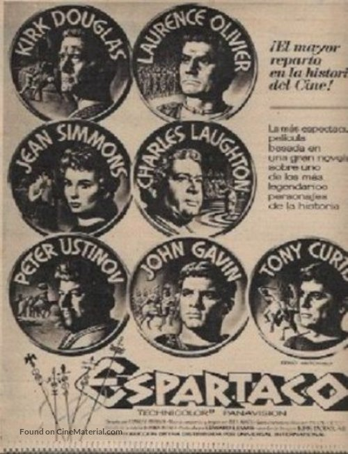 Spartacus - Spanish poster