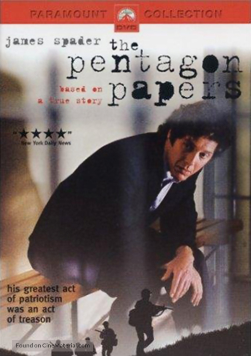 The Pentagon Papers - Movie Cover