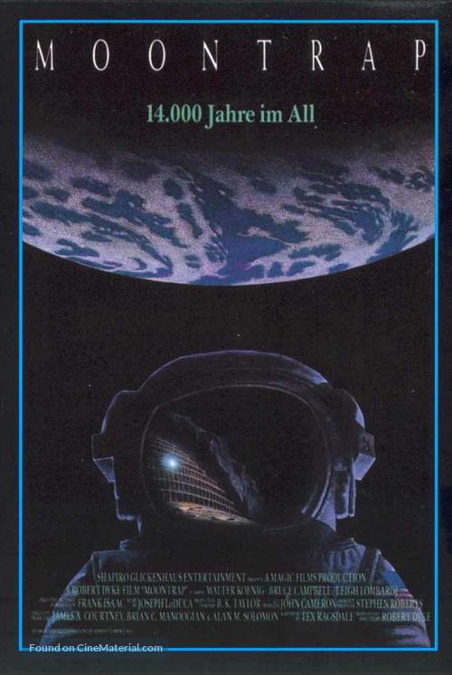 Moontrap - German Movie Poster