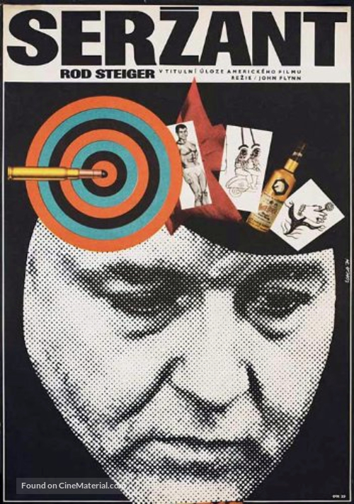 The Sergeant - Polish Movie Poster