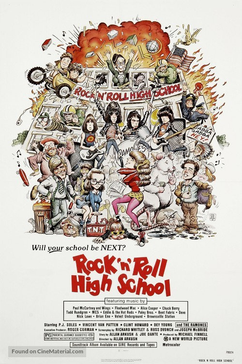 Rock 'n' Roll High School - Movie Poster
