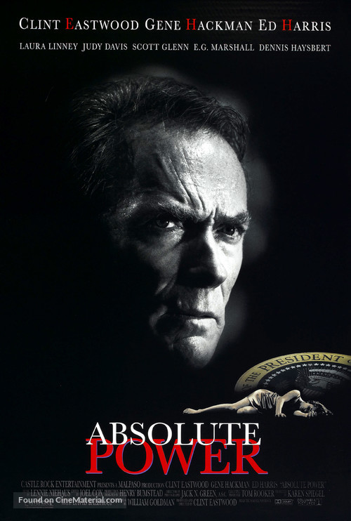 Absolute Power - Movie Poster