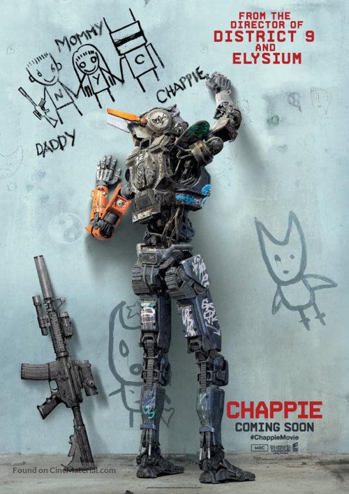 Chappie - British Movie Poster