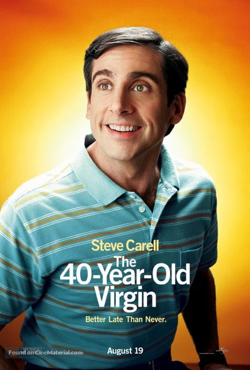 The 40 Year Old Virgin - Movie Poster