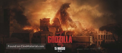 Godzilla - Italian Movie Poster
