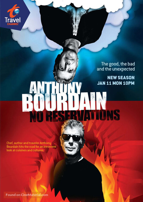 """Anthony Bourdain: No Reservations"" - Movie Poster"