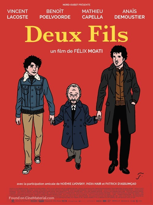 Deux fils - French Movie Poster
