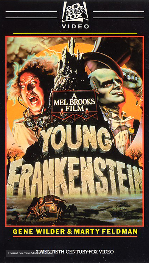 Young Frankenstein - VHS movie cover
