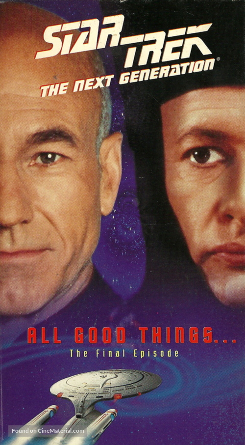 """Star Trek: The Next Generation"" - VHS cover"
