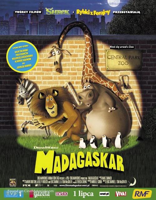 Madagascar - Polish poster