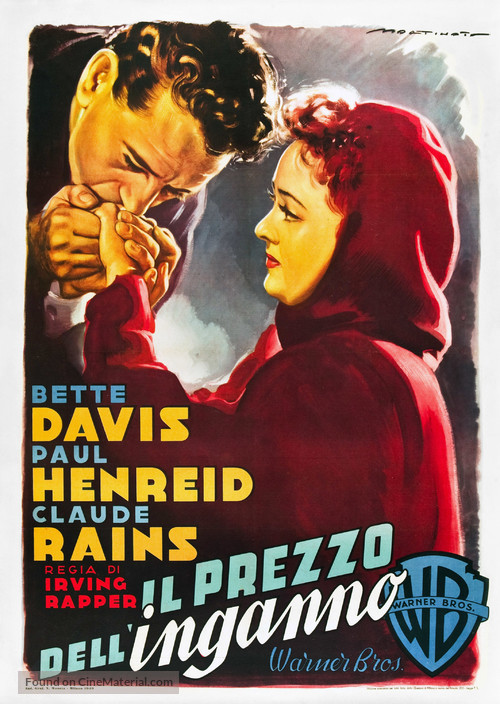 Deception - Italian Movie Poster