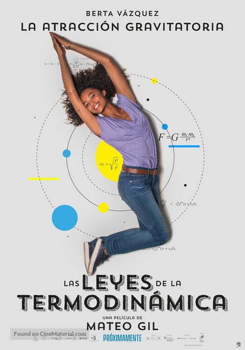 Las leyes de la termodinámica - Spanish Movie Poster