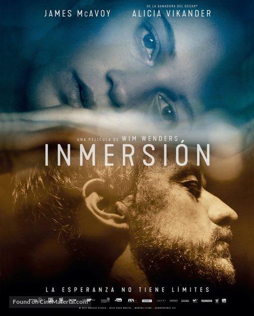 Submergence - Spanish Movie Poster