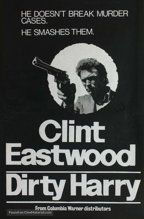 Dirty Harry - New Zealand Movie Poster