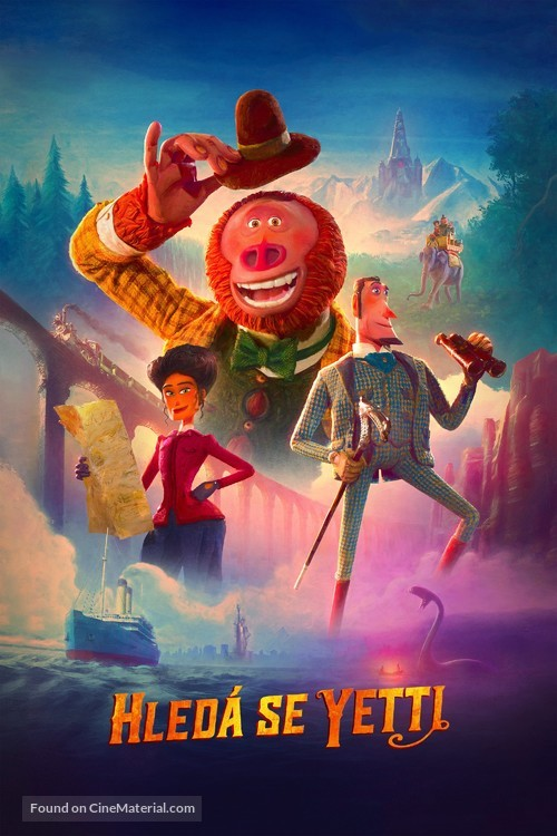 Missing Link - Czech Video on demand movie cover