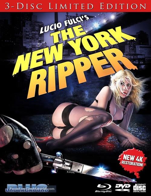 Lo squartatore di New York - Blu-Ray movie cover