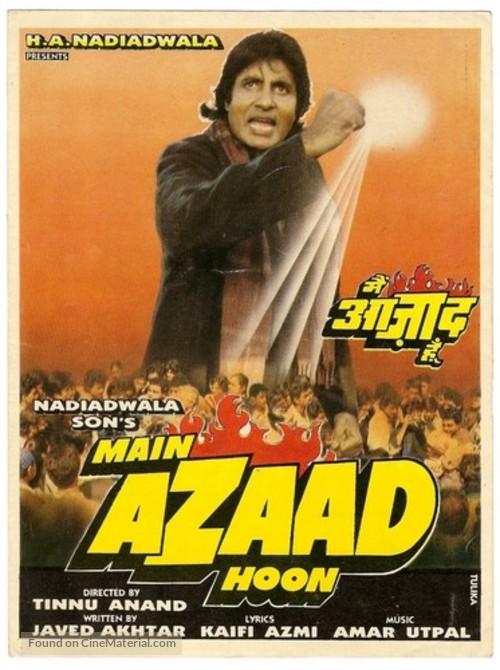Main Azaad Hoon - Indian Movie Poster