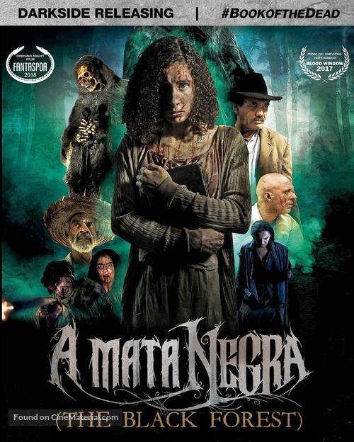 El bosque negro - Blu-Ray movie cover