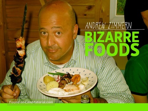 """""""Bizarre Foods with Andrew Zimmern"""" - Video on demand cover"""