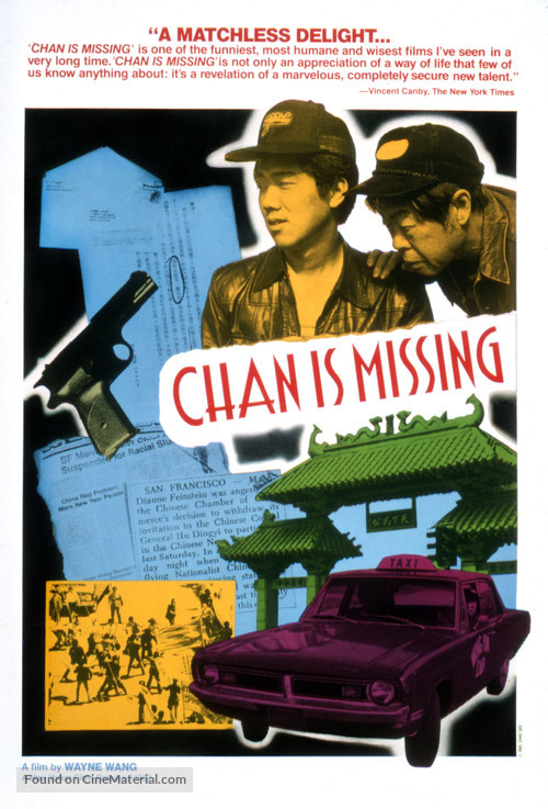 Chan Is Missing - Movie Poster