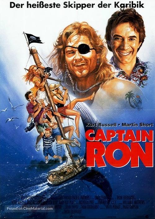 Captain Ron - German Movie Poster