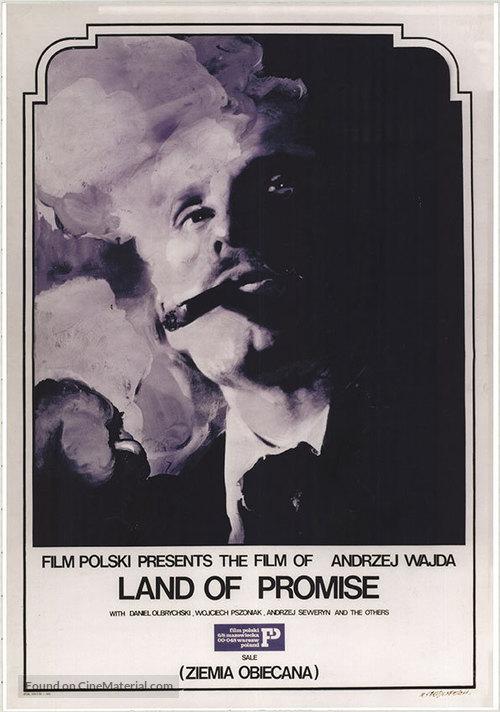 Ziemia obiecana - poster