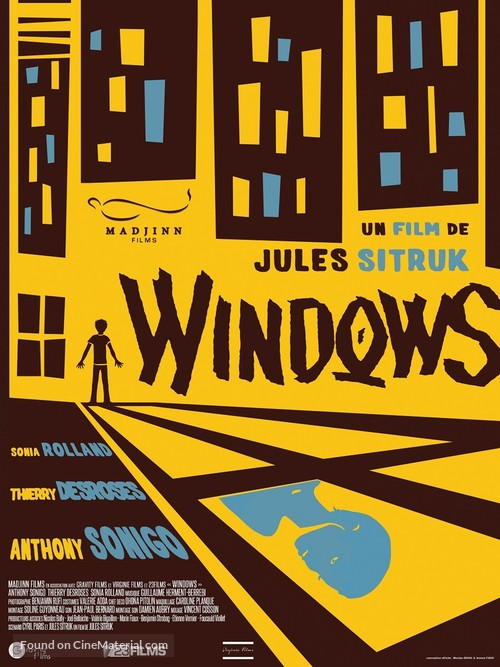 Windows - French Movie Poster