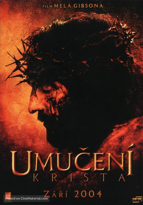 The Passion of the Christ - Czech Movie Poster