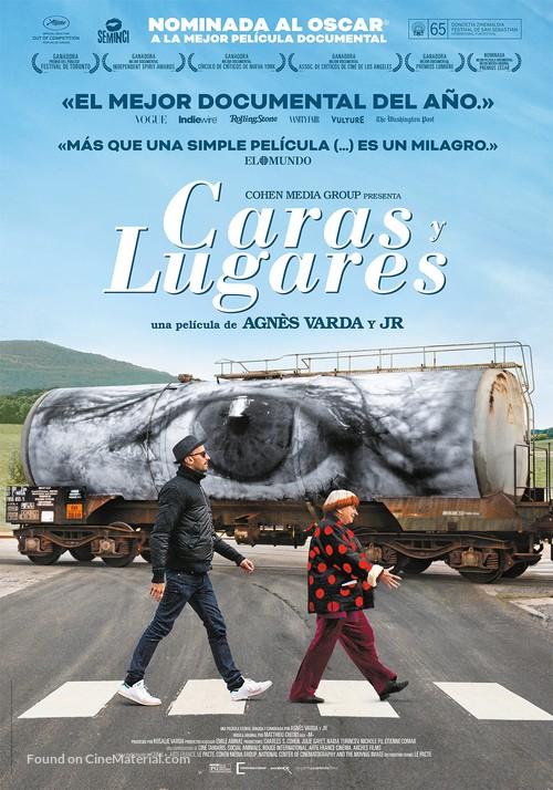 Visages, villages - Spanish Movie Poster
