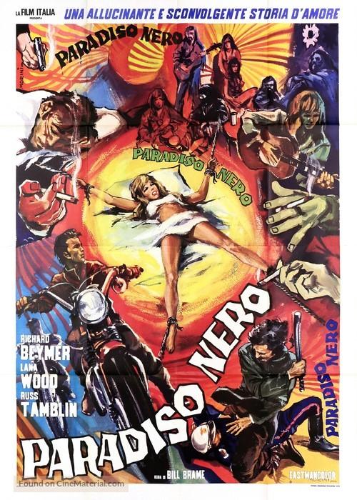 Scream Free! - Italian Movie Poster