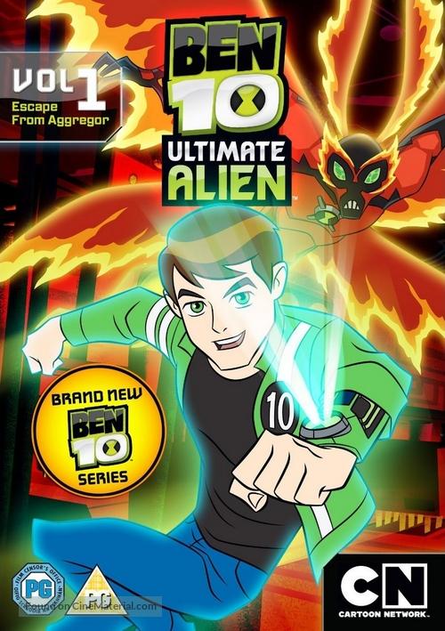 """Ben 10: Ultimate Alien"" - British Movie Cover"