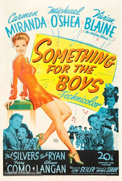 Something for the Boys - Movie Poster