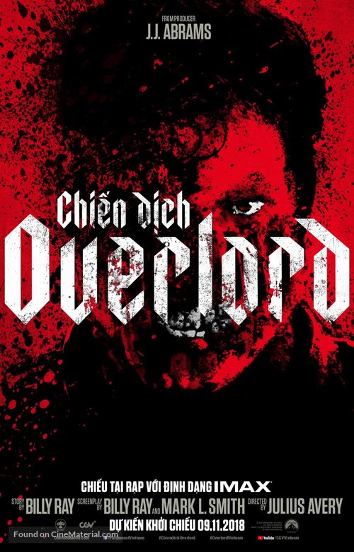 Overlord - Vietnamese Movie Poster