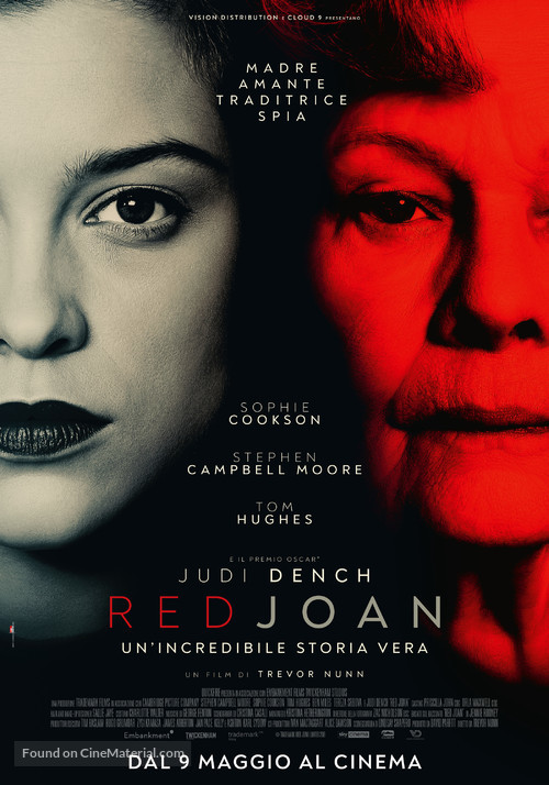 Red Joan - Italian Movie Poster