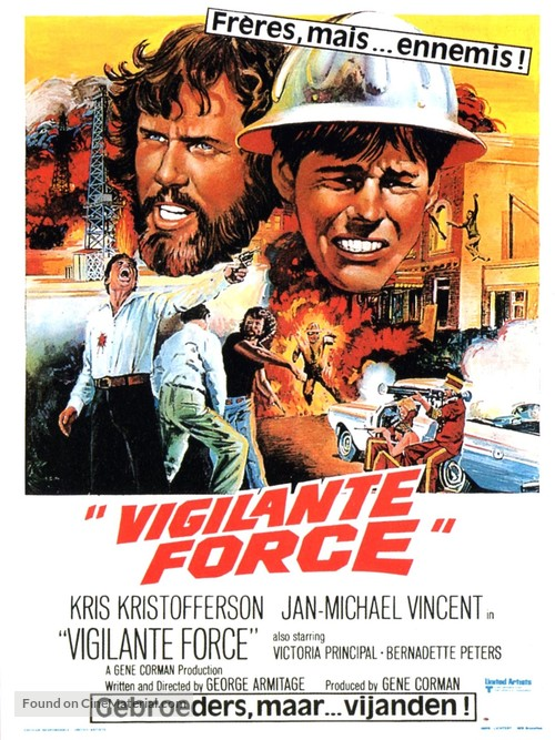 Vigilante Force - Belgian Movie Poster