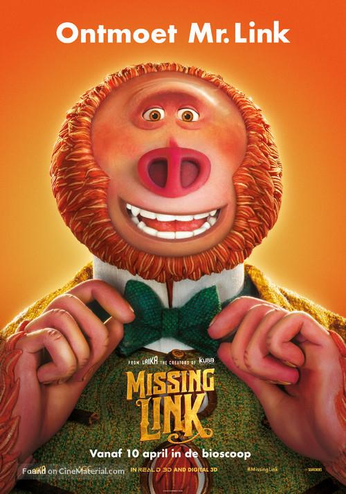 Missing Link - Dutch Movie Poster