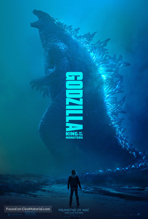 Godzilla: King of the Monsters - Icelandic Movie Poster