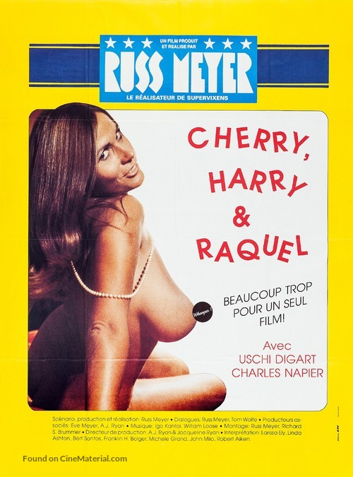 Cherry, Harry & Raquel! - French Movie Poster
